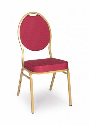 Bankett szék - arany bordó